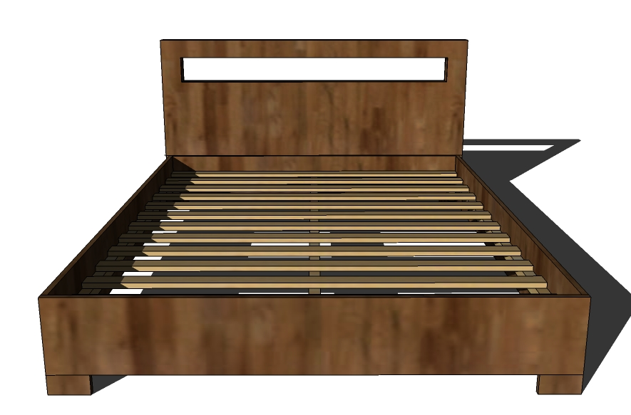 Wood Plan: Detail Wood bed frames and headboards plans