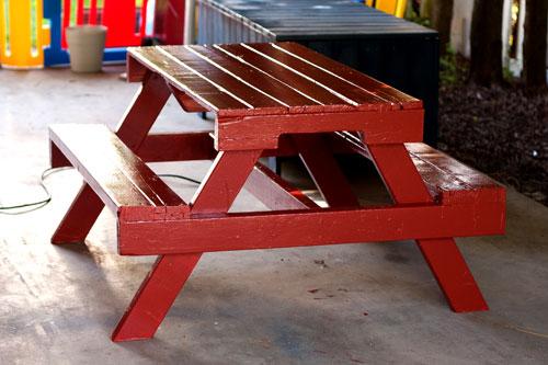 pallet picnic table plans 1 Стол из поддонов. 25 лучших идей. svoimi rukami