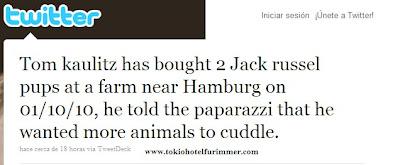 Dos perritos mas para los Kaulitz? Publish