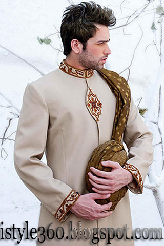 New Groom Sherwani 2011 - Wedding Sherwani 2011