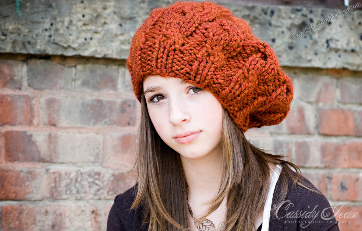 Knit Hat : ... Hand Made Knit Hats Stylish Winter Wear Knit Hats - iSTYLE 360