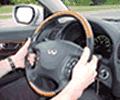 manos en el volante