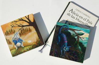 Ilustraciones en acrílico sobre tela por Lucía Gianello