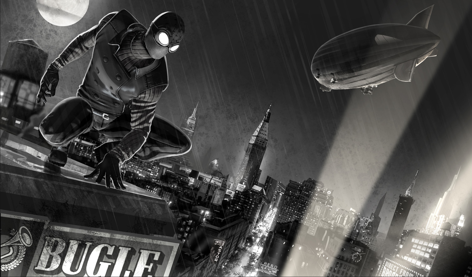 Spider man shattered dimensions noir suits - photo#7