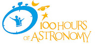 Logo ufficiale '100 Hours of Astronomy'