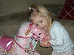 She loves her Pink Pony