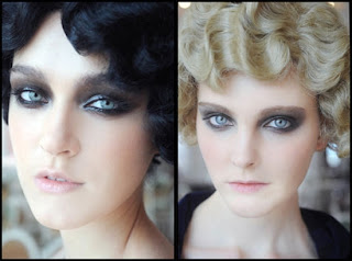 Ac le golem maquillage sombre smoky eye - Maquillage annee 20 ...