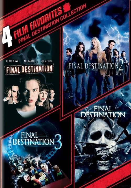 Film Favorites: Final Destination 1-4 Collection sur Amazon.ca