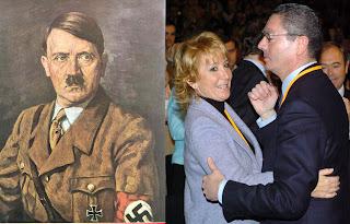 Esperanza aguirre Gallardon y Hitler