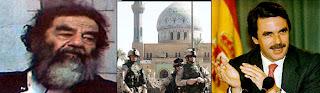 Saddam da las gracias a Aznar por la invasión a Irak