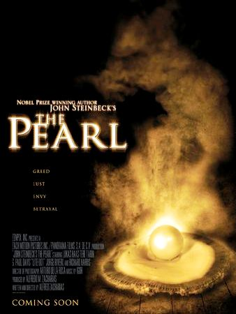 "evil in the pearl by john steinbeck ""the pearl,"" by john steinbeck is the story of a poor indian couple who find a pearl of juana views the pearl as evil in itself because she is."