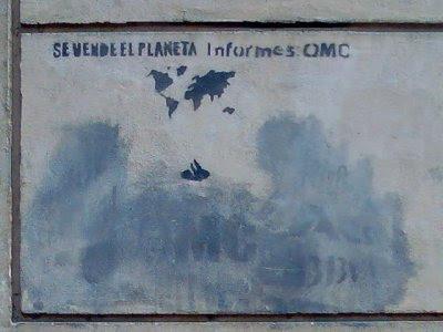Se vende el planeta. Informes: OMC.