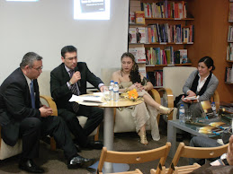 Von Trina, Ângelo Rodrigues, Isabel Rosete e representante da editora Ecopy