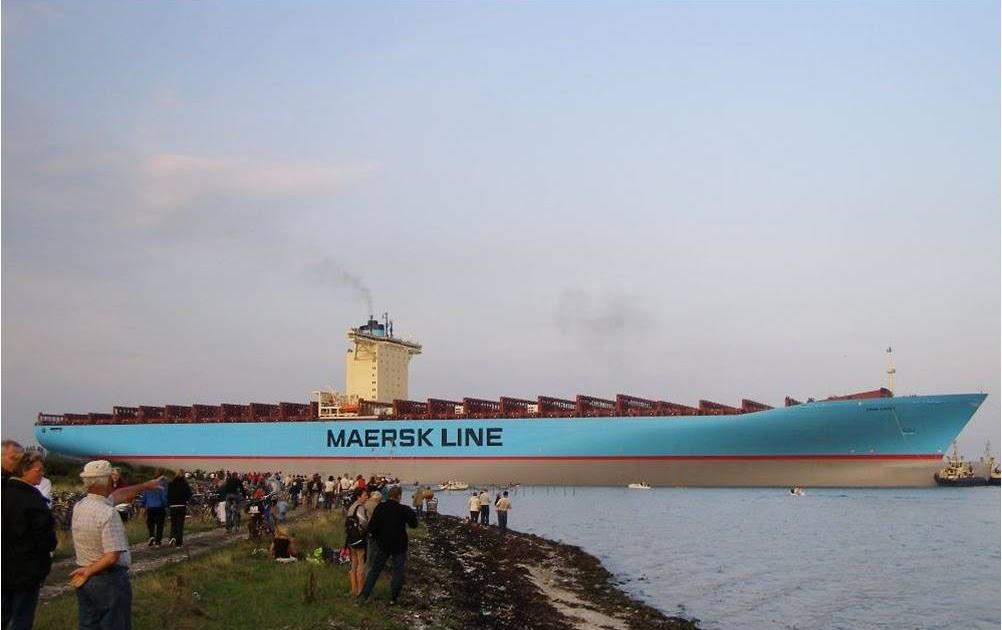 Canal lisabeth le plus gros porte container du monde - Le plus gros porte container du monde ...