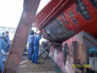 Reparacion de remolcador de puerto
