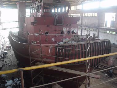 Participacion y cordinacion de obra en la construccion del remolcador ARGENTINO I