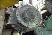 Reparacion de grandes turbos para plantas motrices navales