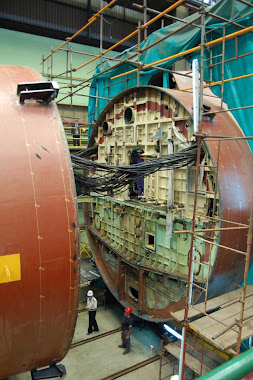 Reparacion de media vida Submarino A.R.A. San Juan.