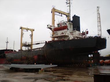 Reparacion OFFSHORE del buque GALAXY.