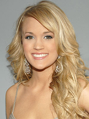 carrie underwood long hair styles