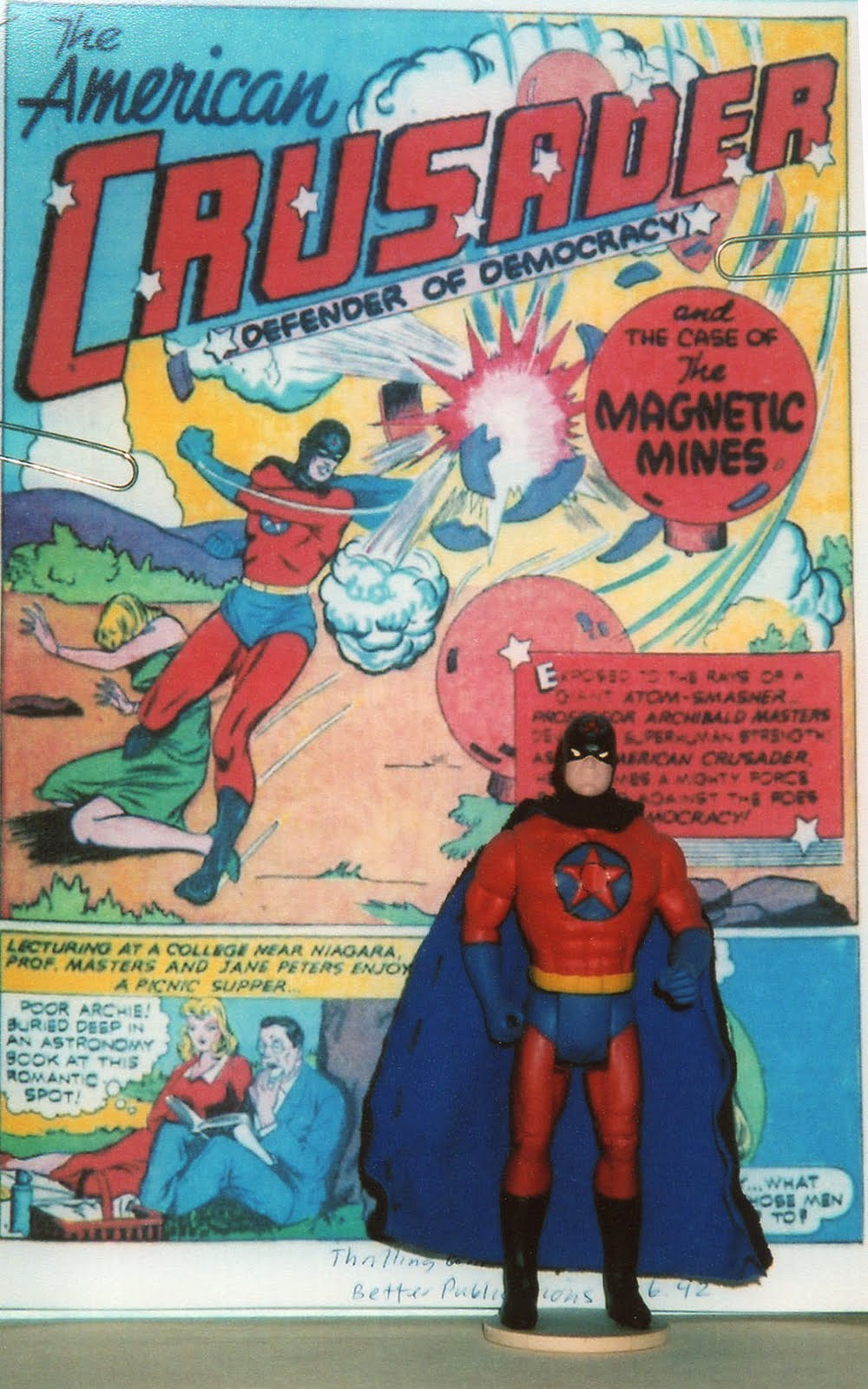 the golden age of superheroes in the united states By 1931 there were approximately 25 experimental televison stations in the united states most had left tha air by 1935 in 1941 experimental station w2xbs becomes wnbt which is now wnbc, channel 4 in new york city.