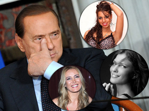 Berlusconi at it again: Even the one-eyed man winks at women