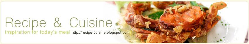 Recipe & Cuisine