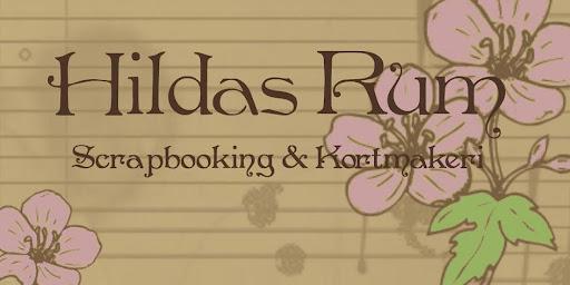 Hildas Rum - Scrapbooking & Kortmakeri.