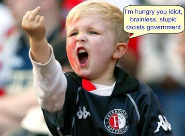 Hungry Angry Kid