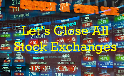 close global stock exchanges