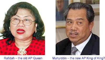 Rafidah Muhyiddin AP Queen King