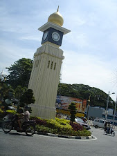 menara jam mercu tanda bandar kuala kangsar