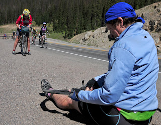 A Flat Tire on Wolf Creek Pass