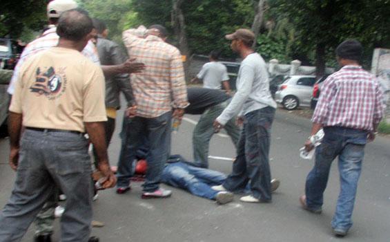 Foto Kerusuhan Ampera