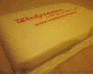 Walgreen's bandage kit