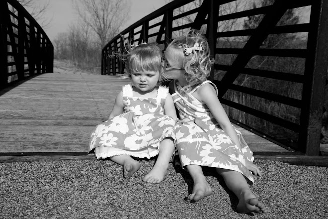 I keep going back and forth if I like this better in black and white or color....both are precious!