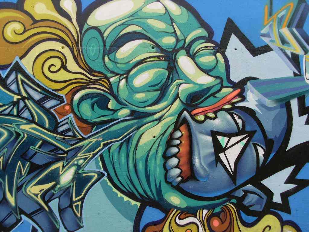 Alphabet Graffiti Tattoo