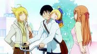 Sakura, Tsuchi, Anzu y Nanako