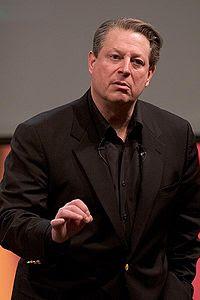 Al Gore en Una Verdad Incómoda