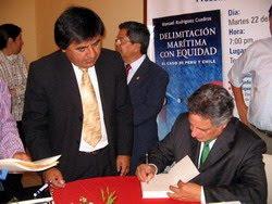 Presentación del libro de Rodríguez Cuadros (2008), vía portal de Radio Uno