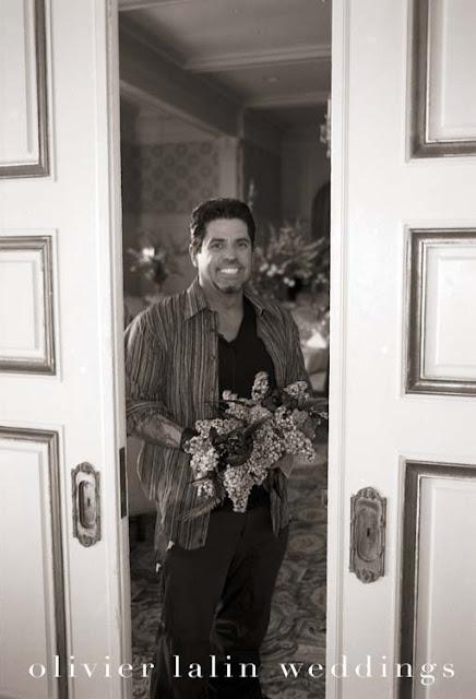 luis collazo, fleurs,mariage,arrangement,wedding