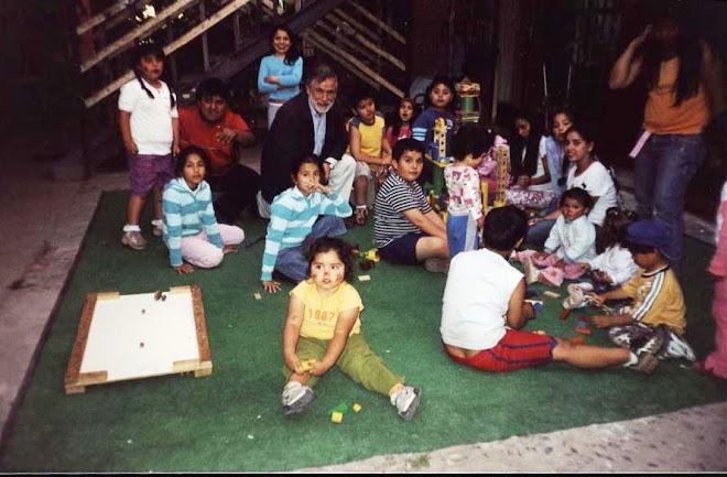 Animación en condominios de Santa Raquel c/n Sotero del río