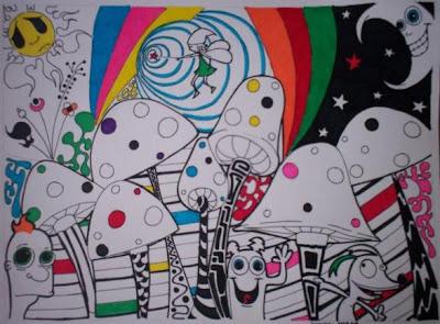 el cual voy a compartir con uds algunos de mis dibujos he intentos de