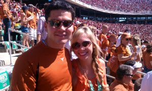 At the UT vs OU Game