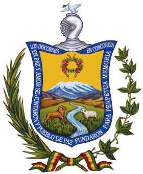 La ciudad de La Paz (Bolivia)