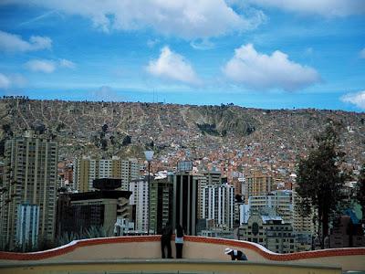 Vista de La Paz desde Sopocachi