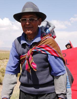 Abuelos en Bolivia