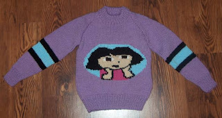 Dora The Explorer Pattern - Knitting Paradise - Forum