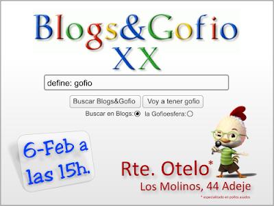 Blogs & Gofio XX