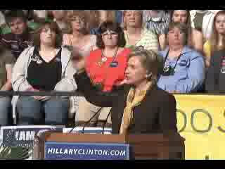 HRC speech Bloomington